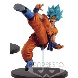 BANPRESTO Dragonball Z figurine Master Stars Piece Super Saiyan Goku Manga Dimensions 34 cm