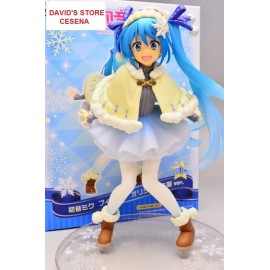 HATSUNE MIKU ORIGINAL WINTER DRESS FIGURE TAITO 2016