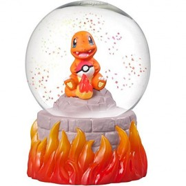 FIGURINE FIGURE BOULE A NEIGE Pokemon SALAMECHE HITOKAGE snow slow life Japan OFFICIEL POCKET MONSTERS