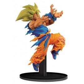 BANPRESTO Dragon Ball Z BWFC DBZ Goku SS Kameha 21cm