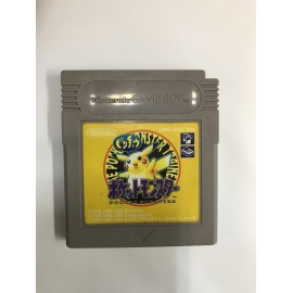 POKEMON JAUNE YELLOW GAME BOY COLOR GB SANS boite SANS NOTICE