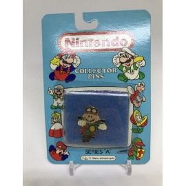 rare nintendo SCELLER NEUF COLLECTOR PINS MARIO moto jeux video retro gaming