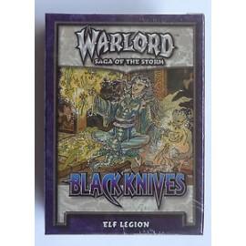 STARTER DECK WARLORD black knives elf legion ANGLAIS SOUS BISTER