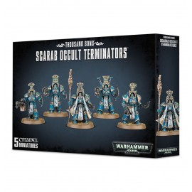 WARHAMMER 40 000 scarab occult terminators
