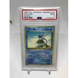 POKEMON 1998 japanese vending PSA9 articuno series II artikodin