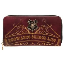 OFFICIAL harry potter porte feuille zip hogwarts school