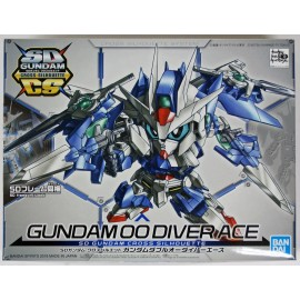 Bandai SD Gundam Cross Silhouette Gundam OO Diver Ace Non-Scale Model Kit