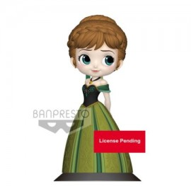 banpresto Figurine Q Posket Anna Coronation Style A Normal Color frozen reine des neiges