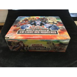 VIDE 1ere EDITION francais yu gi oh DISPLAY battle pack 3 la ligue des monstres