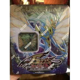 yu gi oh tin box 2009 ancien dragon feerique francais NEUF booster