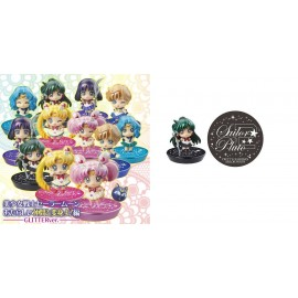 Figurine Petit Chara! Series Sailor Moon Petit Oshiokiyo B Set Figure NEW F/S
