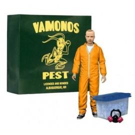 Breaking Bad figurine Deluxe Jesse Pinkman in Orange Hazmat Suit heo Exclusive 1