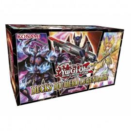 yu gi oh Yu-Gi-Oh! Packs Edition Spéciale Decks Légendaires 4 Decks Du Héro Légendaire