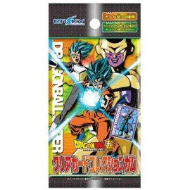 clash of fates PREMIUM PACK 3 boosters FR tcg dragon ball SUPER CARD game BANDAI