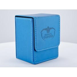 TCG Ultimate Guard Ultimate Guard Flip Deck Case 80+ Leatherette Bleu