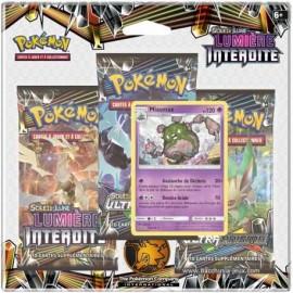 TRI PACK 3 BOOSTER pokemon EN FRANCAIS Soleil et Lune lucanon