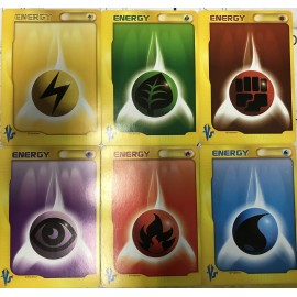 POKEMON CARTE JAPANESE SERIE VS lot 6 energy