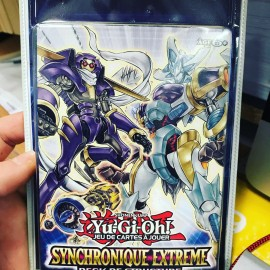 NEUF 1ere EDITION francais yu gi oh deck de structure SYNCHRONIQUE EXTREME BLISTER