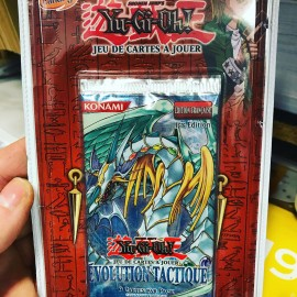 NEUF 1ere EDITION francais yu gi oh booster evolution tactique BLISTER
