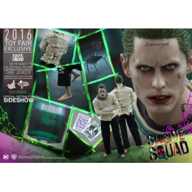 HOT TOYS 2016 Toy Fair Exclusive 1/6 Suicide Squad Le Joker Arkham Asylum sideshow