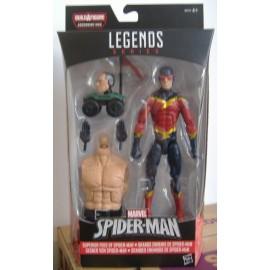 Marvel Hasbro Marvel Legends SERIES SPEED DEMON Figure absorbant homme Spider-Man