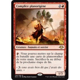 MTG MAGIC Modern Horizons fr Complice Planorigène Planebound Accomplice 140/254