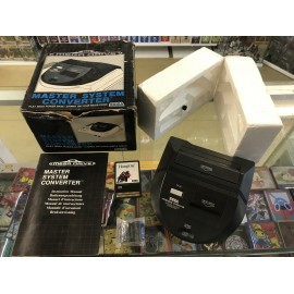 SEGA master system convertter mega drive master system jeux + hang on boite notice