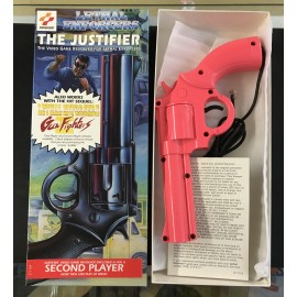 SEGA Lethal Enforcers le justifier rose second joueur pistolet revolver Sega Genesis boite + notice