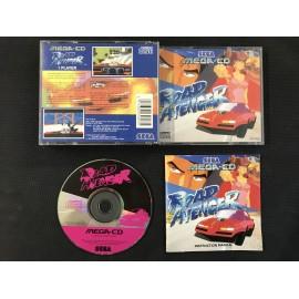 SEGA road avenger francais mega-cd complet boite + notice