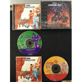 SEGA robo aleste / final fight francais mega-cd complet boite + notice