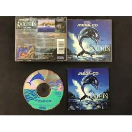 SEGA ecco the dolphin francais mega-cd complet boite + notice