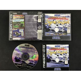 SEGA Formula One Beyond the Limit francais mega-cd complet boite + notice