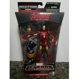 MARVEL LEGENDS Thanos Series New Iron Man Mark 43 Age of Ultron Avengers