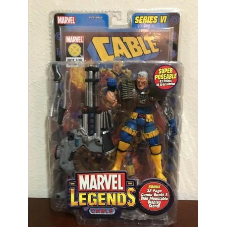 Marvel Legends Series 4 The Punisher blanc ceinture avec présentoir ToyBiz scellé