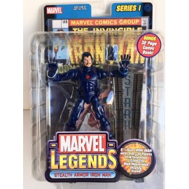 Marvel Legends Stealth Armor Iron Man Series One