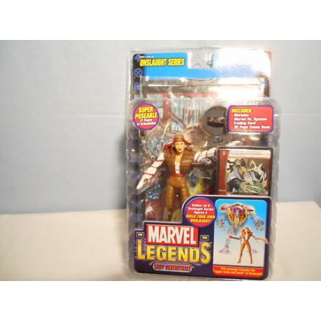 ToyBiz-Marvel Legends Onslaught BAF Series-PYRO FIGURINE