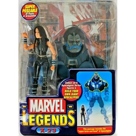 Marvel Legends MAESTRO HULK FIGURINE ToyBiz 2005 Apocalypse BAF