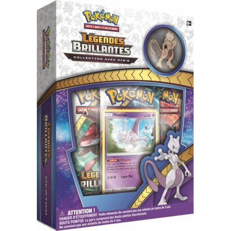 pokemon booster Coffret Pokemon Pin's Pikachu Legendes Brillantes Soleil et Lune 3.5 neuf sceller officiel