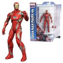 Marvel marvel select iron man mark 46 Action Figure special Edition