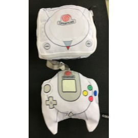 SEGA dreamcast porte monnais , mini cousin , sacoche rangement ds / game boy / game gear