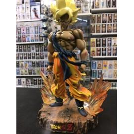 Dragon ball Z Dramatic Diorama Figure Goku Gohan Kamehameha tres rare