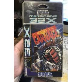 francais Cosmic carnage 32x sega Megadrive blister brand new sealed