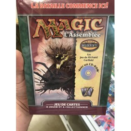 WIZARD MTG magic the gathering deck d'apprentissage découverte avec un cd-rom 2001 francais