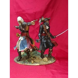 ULTRA RARE ubisoft Assassins creed 4 black flag EDWARD KENWAY THE ASSASSIN PIRATES