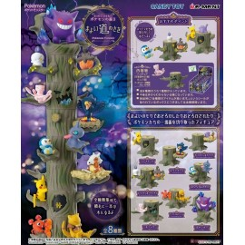 Re-MeNT POKEMON LET'S GATHER TOGETHER FOREST Vol.3 1BOX 8 Types in stock