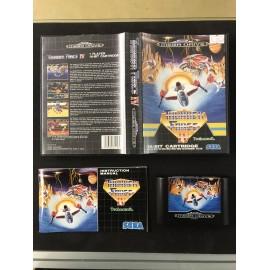 thunder force IV Sega MEGA DRIVE COMPLET PAL BOITE + NOTICE