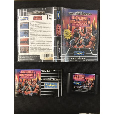 the punisher Sega Mega Drive version Genesis BOITE + NOTICE