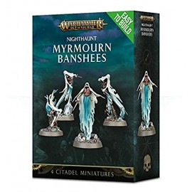 Warhammer age of sigmar nighhaunt Easy to Build Myrmourn Banshees