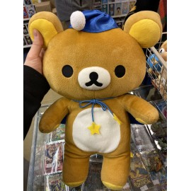 peluche push rilakkuma officiel rose environ 50 cm
