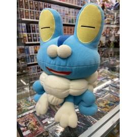 pokemon banpresto peluche push pikachu coussin officiel environ 20 cm